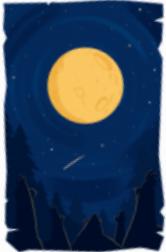 Carta luna llena