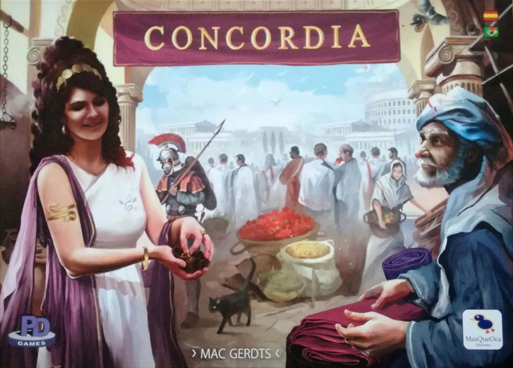 Portada de Concordia