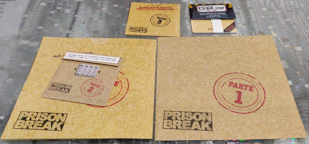 """""""Escape Room: The Game"""", Prision Break"""