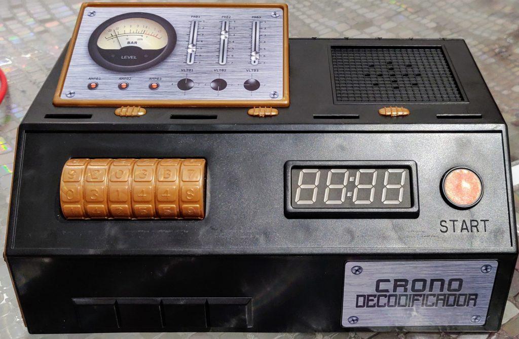 Frontal del crono decodificador