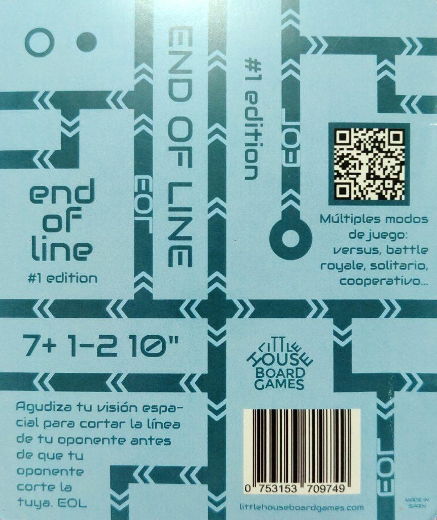 Trasera de End Of Line