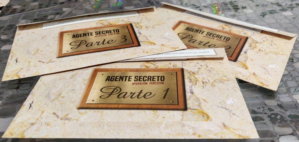 Sobre de Agente Secreto