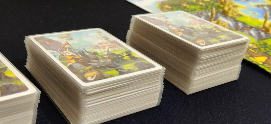 Muchas cartas en Bunny Kingdom