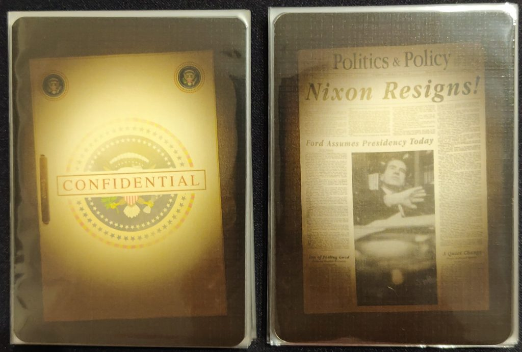 Reversos de cartas de Watergate