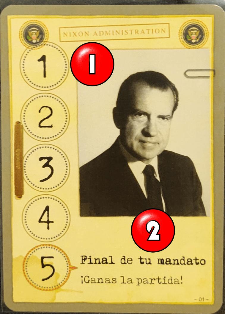 Carta de ímpetu de Nixon