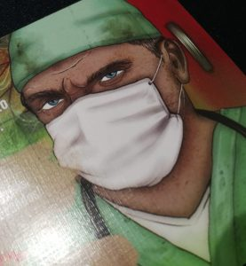 Ilustración de médico