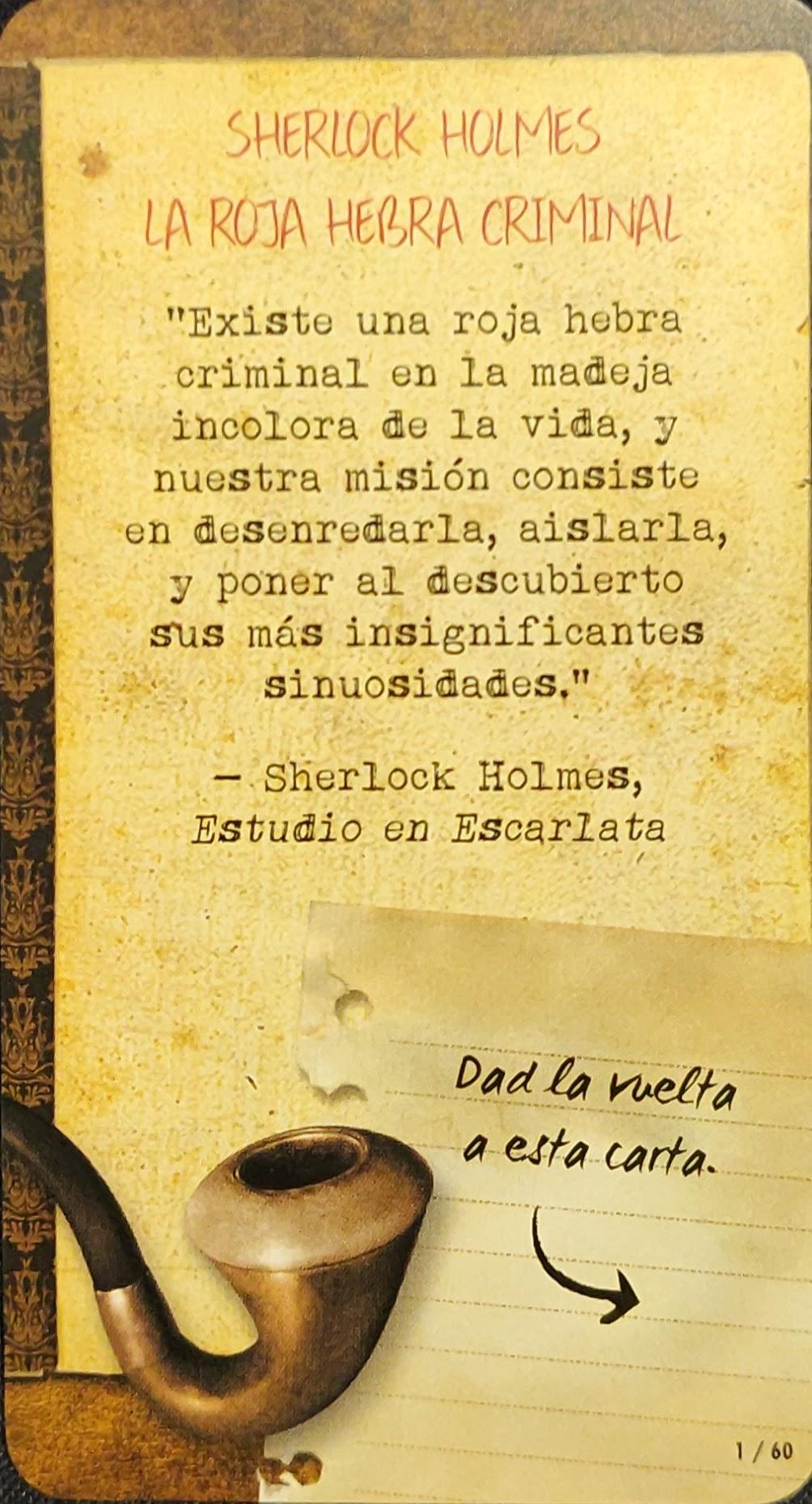 Introducción a Sherlock Holmes