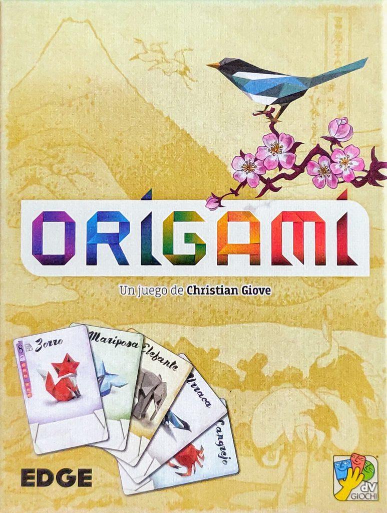 Portada de Origami