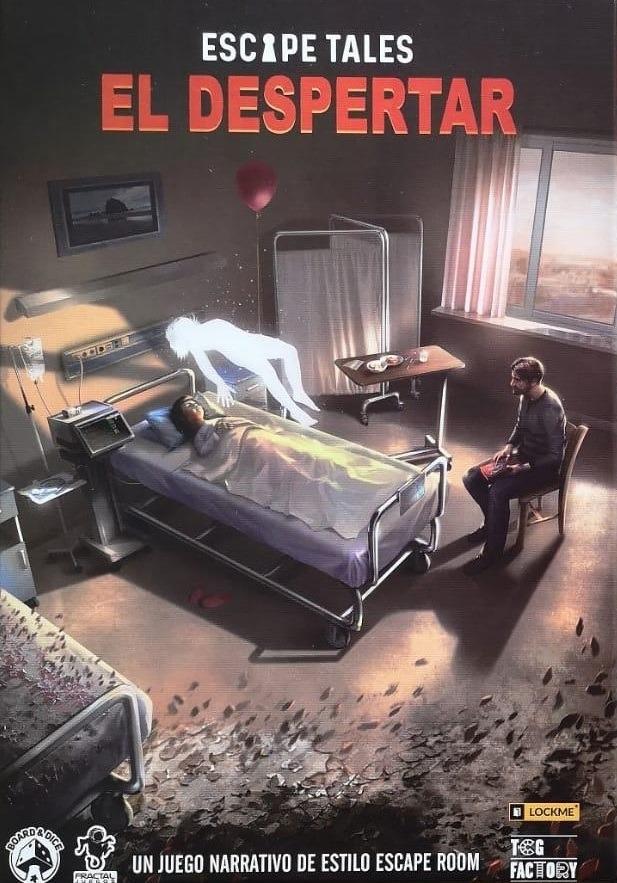 """Portada de """"Escape Tales: El Despertar"""""""