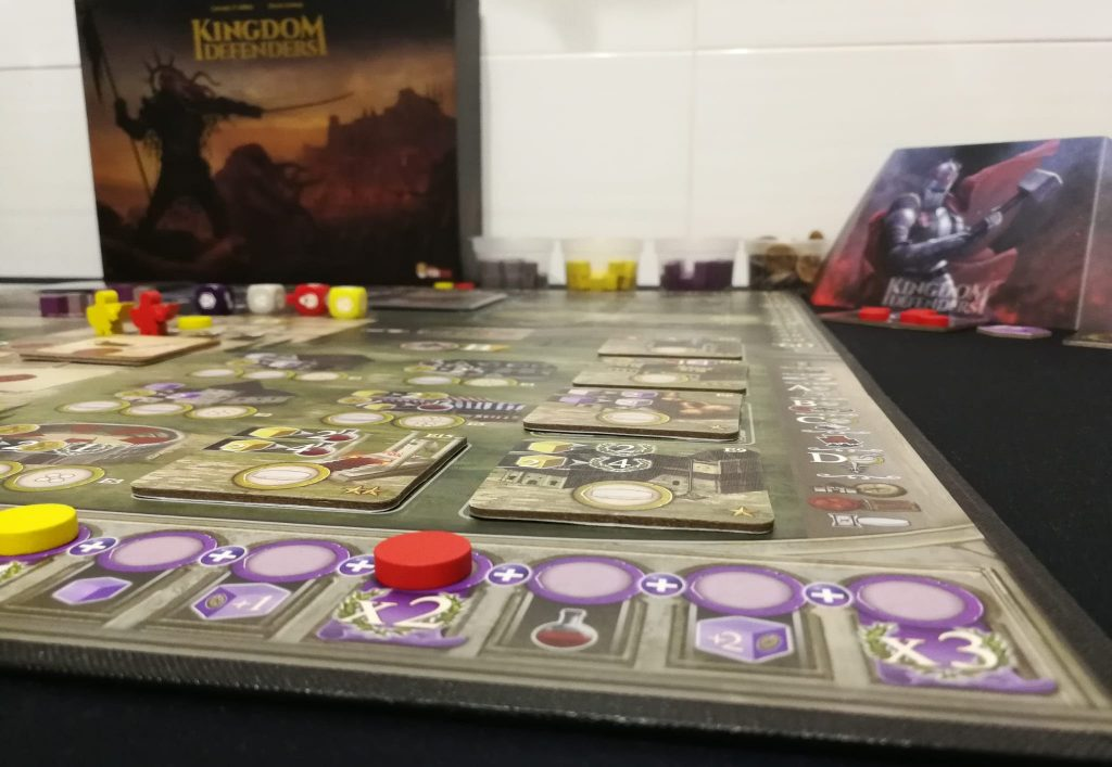 Perspectiva de partida de Kingdom Defenders