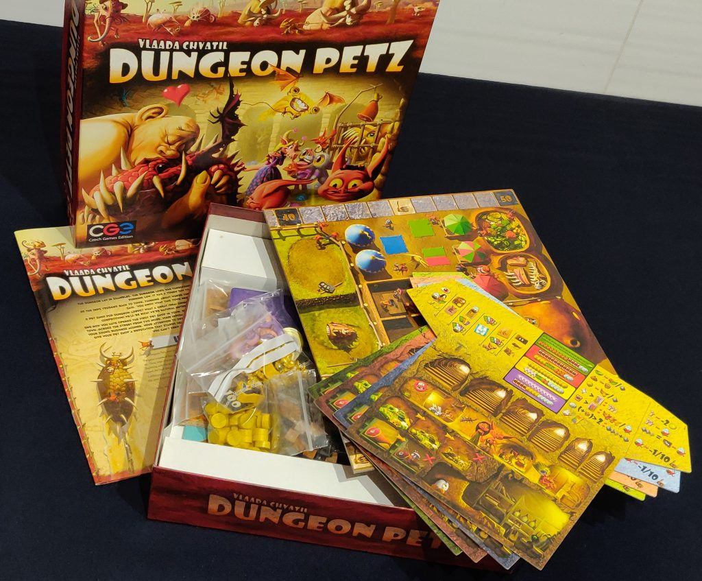 Contenido de Dungeon Petz