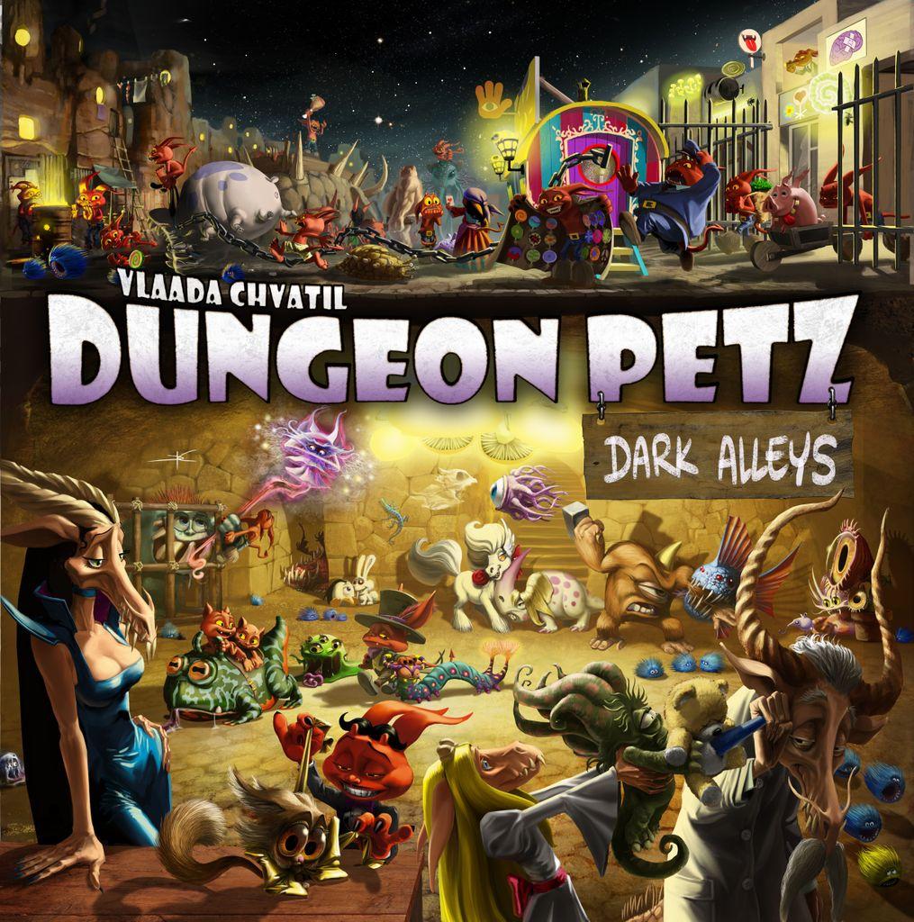 Portada de la caja de Dungeon Petz: Dark Alleys