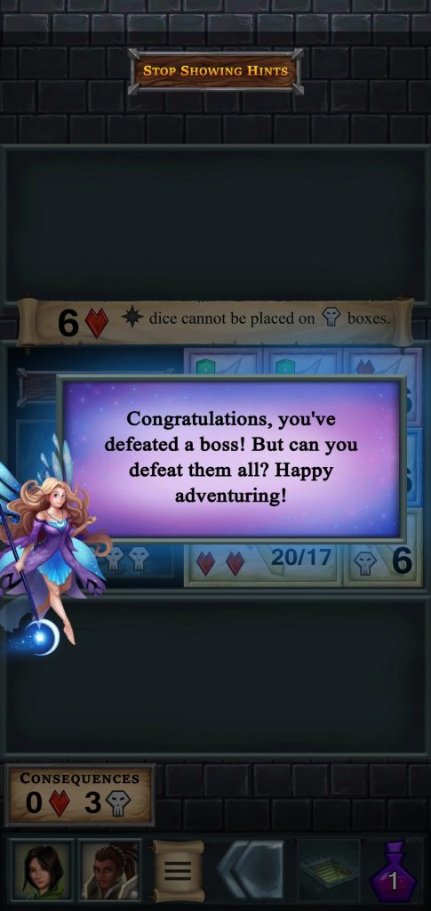 Hada felicitando