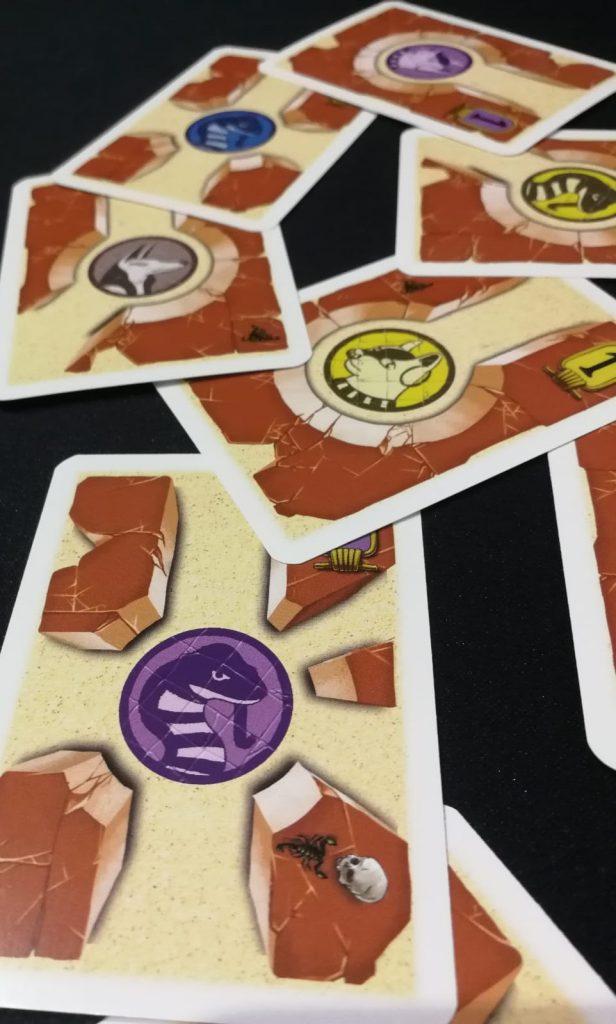 Colocando cartas