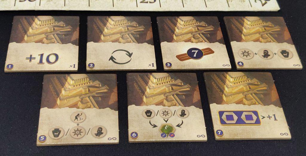 Cartas de zigurats de Babylonia