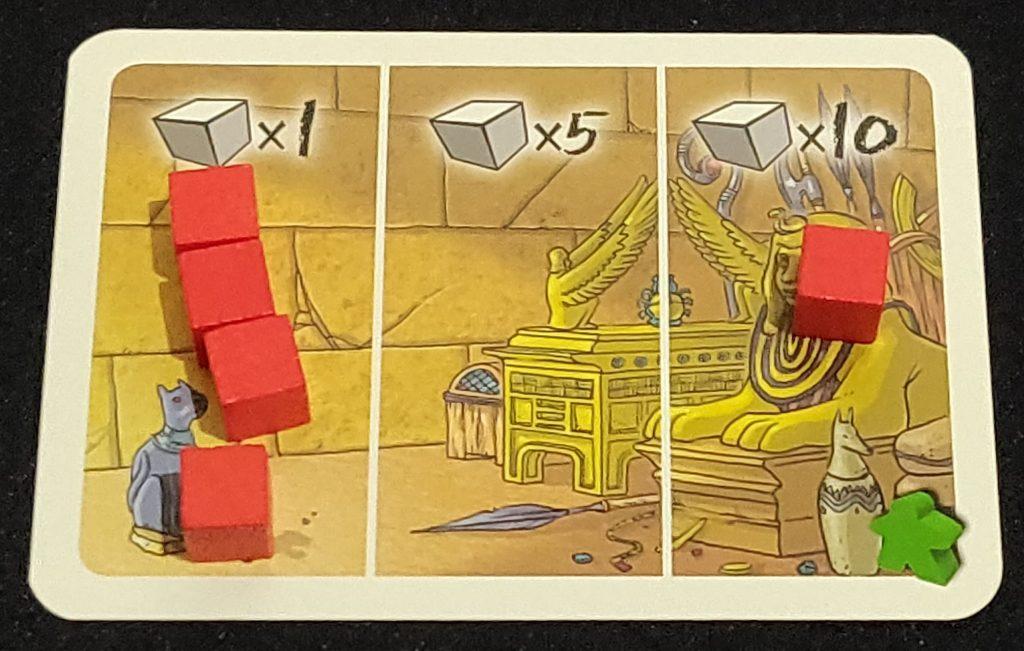 Carta de tesoro de Mastabas