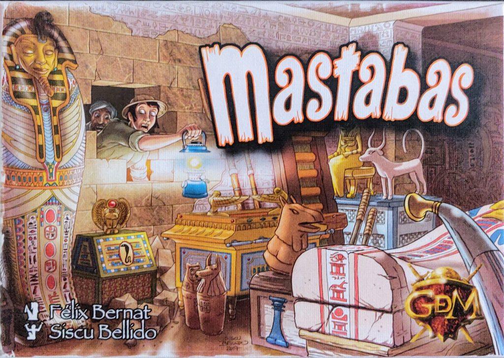 Portada de Mastabas