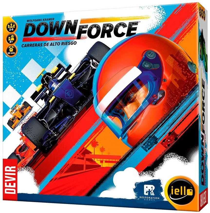 Portada de Downforce