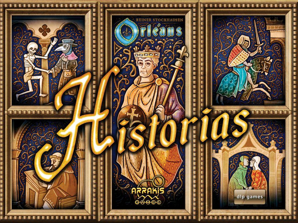 Portada de Orleans Historias