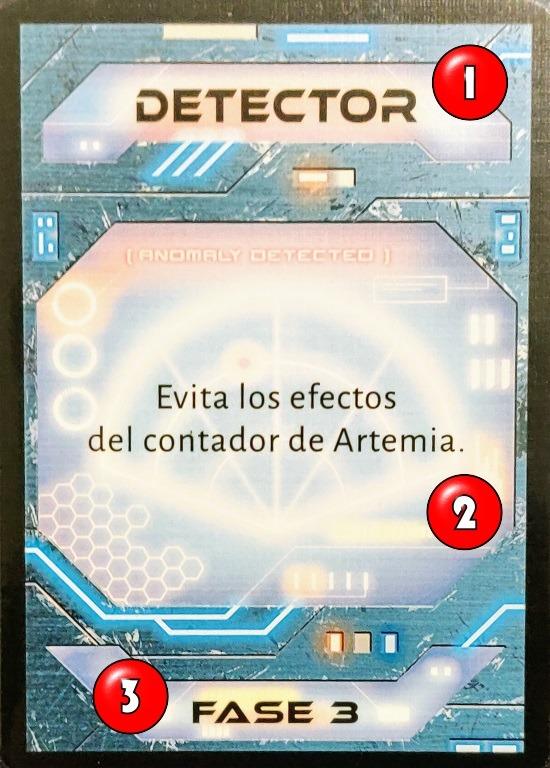 Carta de supervivencia: Detector