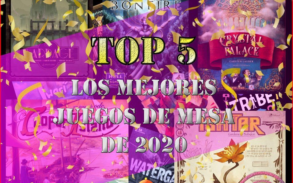TOP 5: MEJORES JUEGOS DE 2020