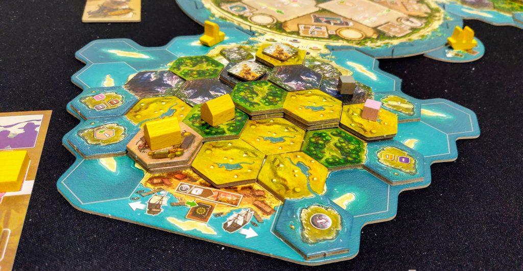 Desarrollando la isla