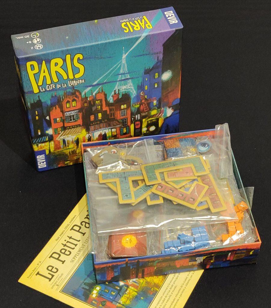 Contenido de Paris: La Cité de la Lumière