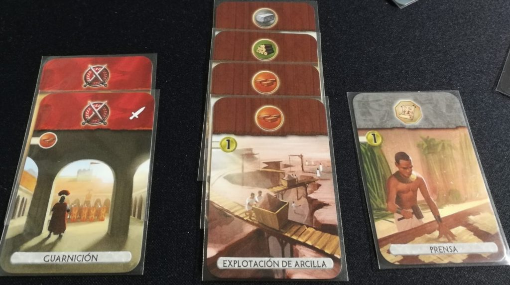 Recursos en 7 Wonders Duel