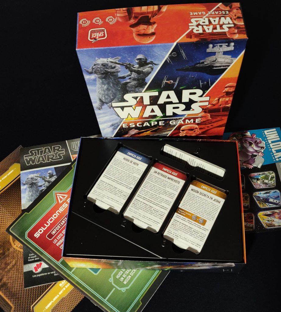 Contenido de Star Wars: Escape Game