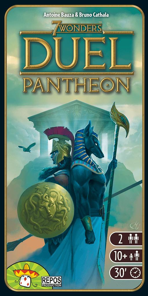 Portada de 7 Wonders Duel: Pantheon