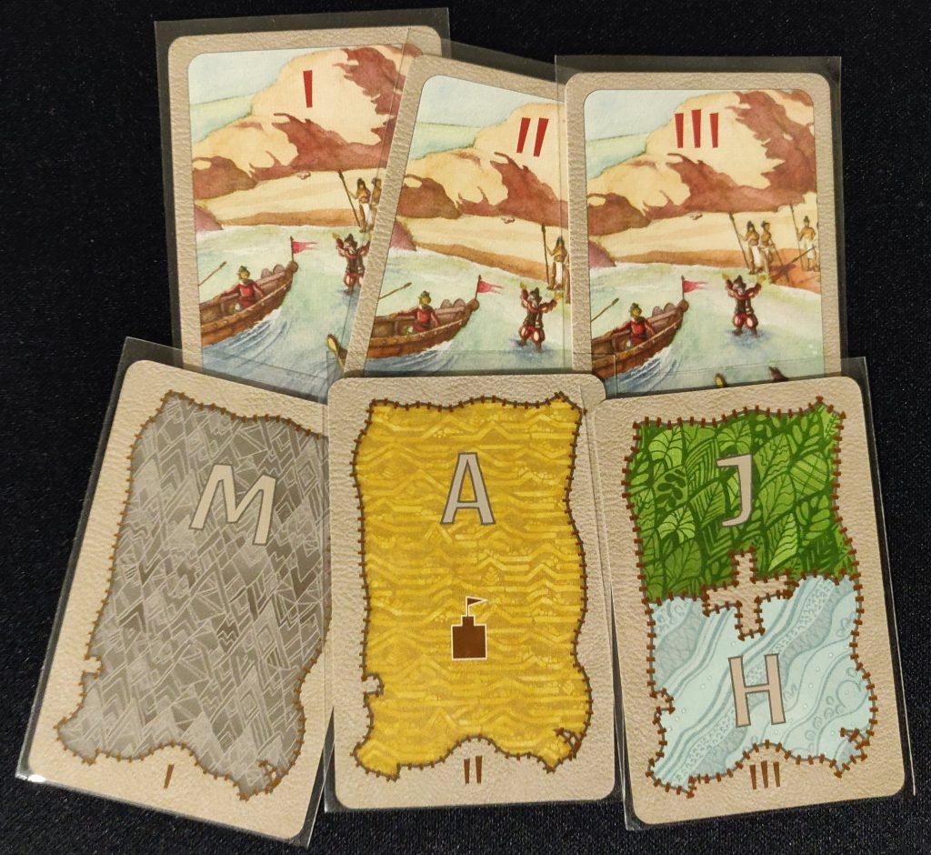 Cartas de invasor de Spirit Island