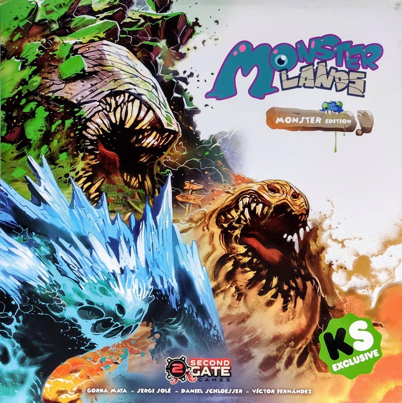 Portada de Monster Lands