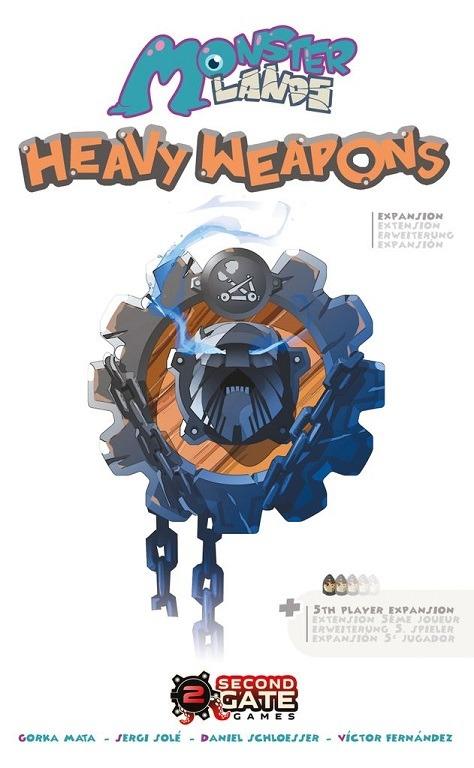 Portada de Monster Lands: Heavy Weapons